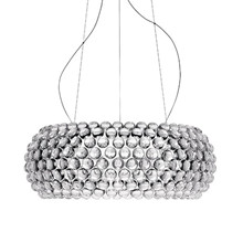 Caboche Grande LED Pendel Transparent Dimmable - Foscarini