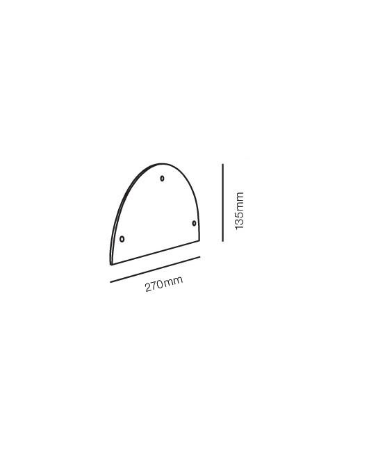 Rørhat Stander Cover Hvid - LIGHT-POINT