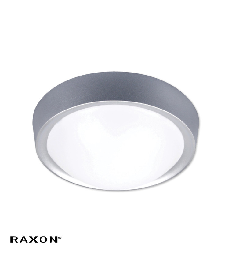 ECO 4W LED Loftlampe Grå - Raxon