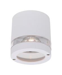 Focus 1xGU10 Udendørs Loftlampe Hvid - NORD