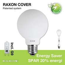 Pære 48W Globe Cover Ø80 E27 - Raxon