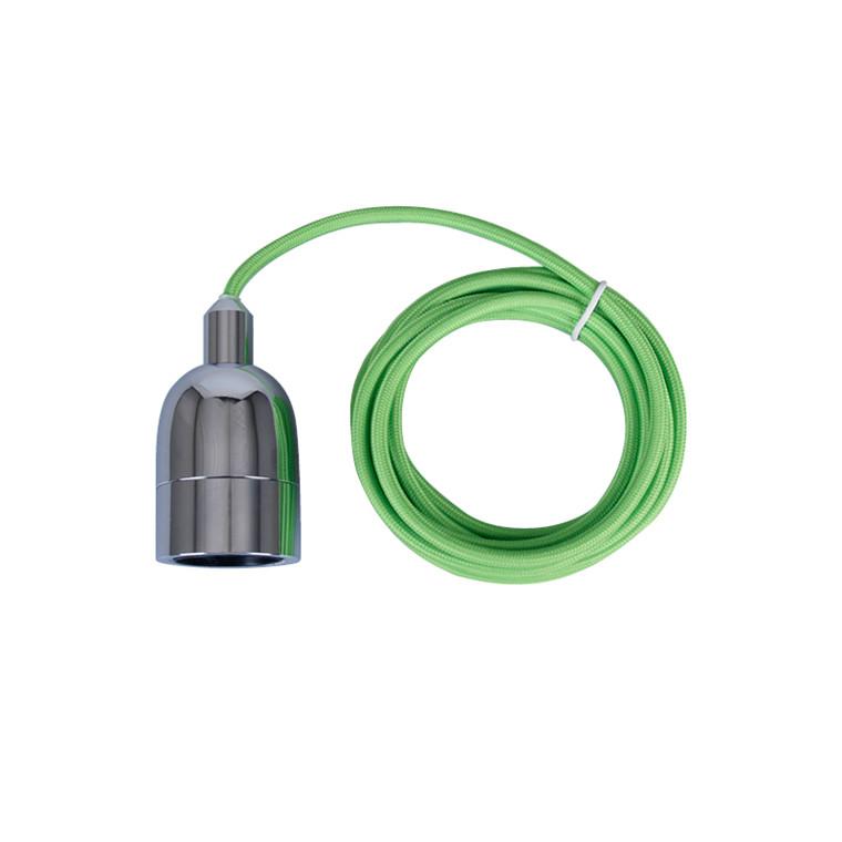 P1 Pendelophæng Grøn/Krom - Raxon