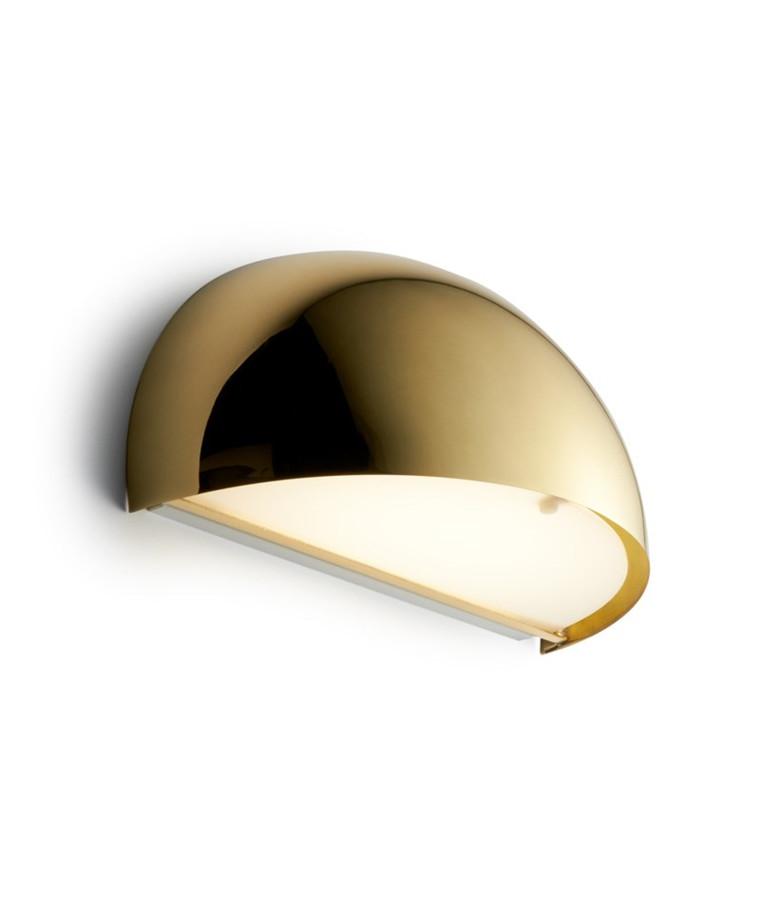 Rørhat Væglampe 2X9W G23messing - LIGHT-POINT