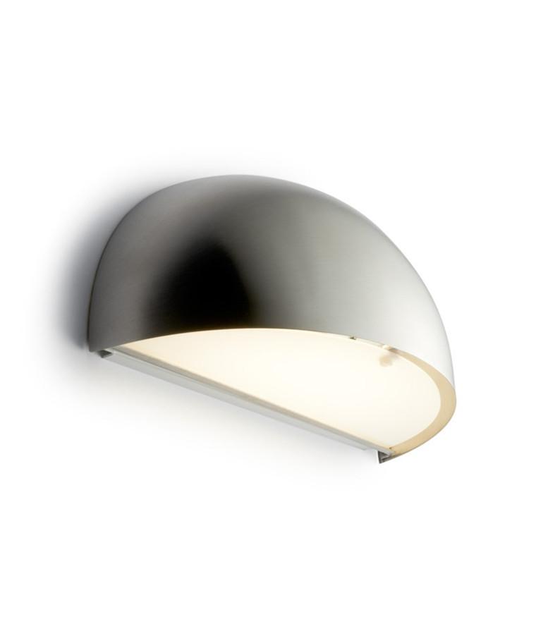 Rørhat Væglampe 10,5W LED Rustfrit stål - LIGHT-POINT