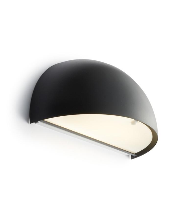 Rørhat Væglampe 2x9W G23 Sort - LIGHT-POINT