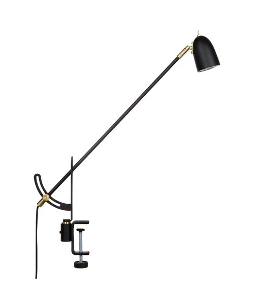 Radiell Bordlampe LED Sort - Belid