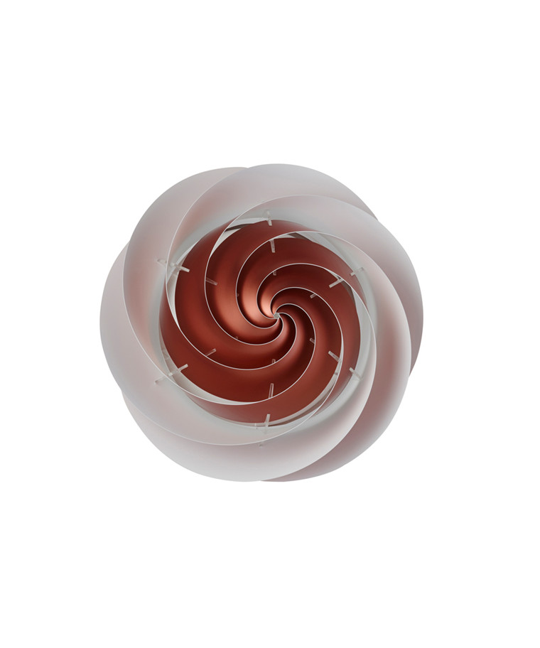 Swirl LoftlampeVæglampe  Medium Kobber - Le Klint
