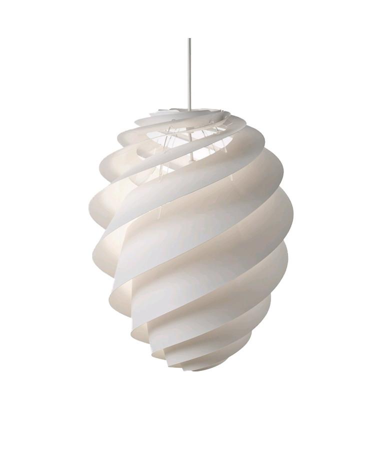 Swirl 2 Pendel Medium Hvid -  Le Klint