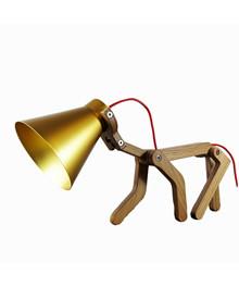 WAaF Bordlampe Eg/Guld Skærm - Structures