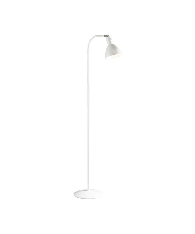 Angora Gulvlampe Hvid - El-light