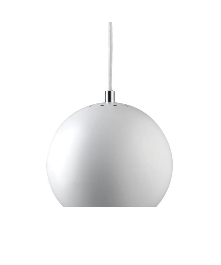 Ball Pendel Mat Hvid - Frandsen