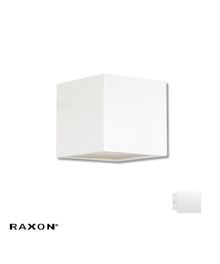 Cubi 10 W1 Badeværelseslampe Hvid - Raxon