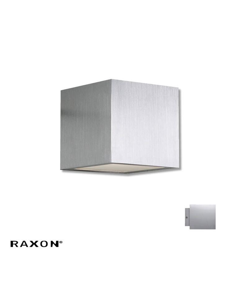 Cubi 10 W1 Badeværelseslampe Aluminium - Raxon