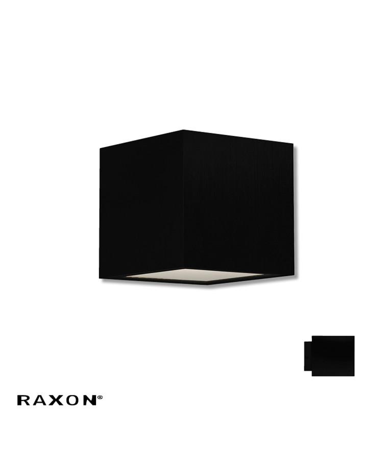Cubi 10 W1 Badeværelseslampe Sort - Raxon