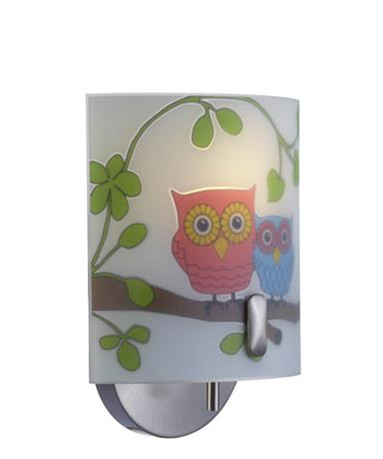 Ugglarp Væglampe Uglemønster - Markslöjd