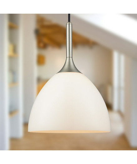 Bellevue Pendel 24 Opal Lampe - Halo Design