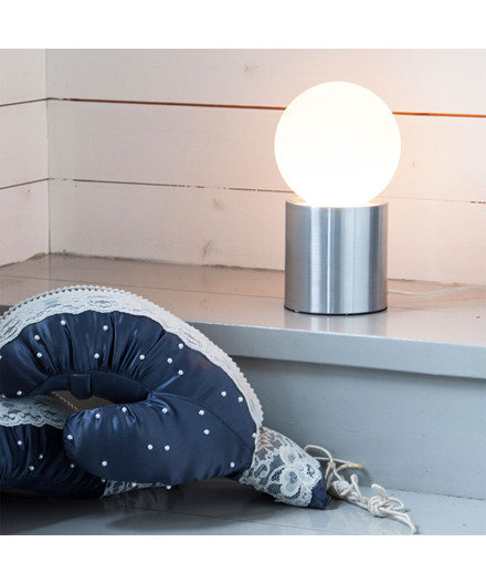 Ronda Bordlampe H21 cm Mat Sort - By Rydéns