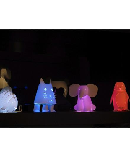 Mini Zoolight Kat Bordlampe - Intermezzo