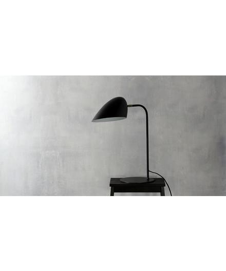 DEMO Hitchcock Bordlampe Mat Sort/Messing - Frandsen