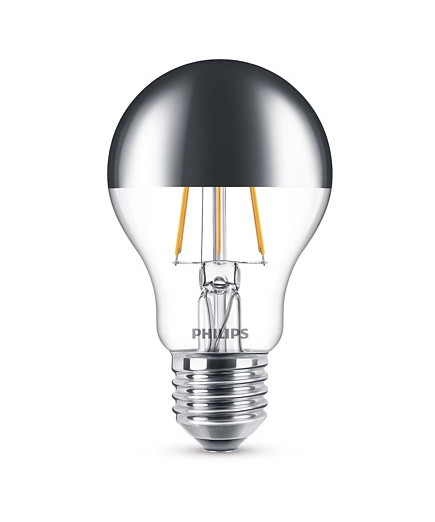 Bulb Led 3 5w Filament Top Mirrored 370lm E27 Philips