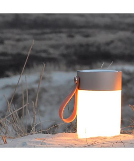 LED Sound Jar Gold - Halo Design