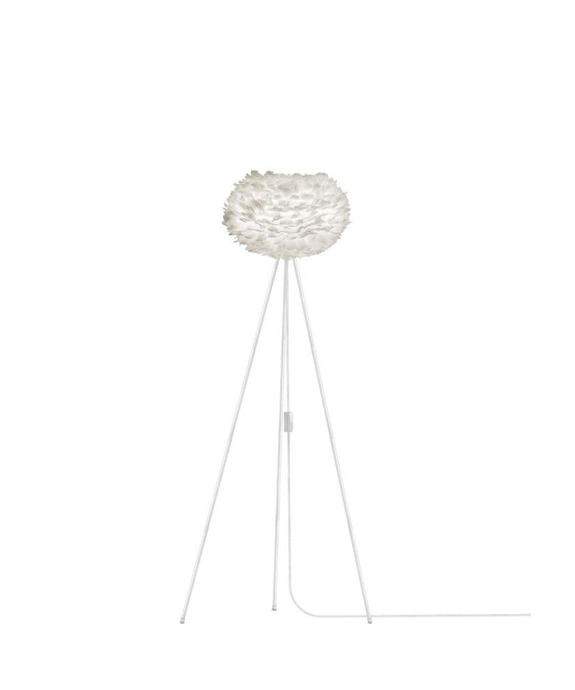 eos gulvlampe hvid vita lampekongen. Black Bedroom Furniture Sets. Home Design Ideas