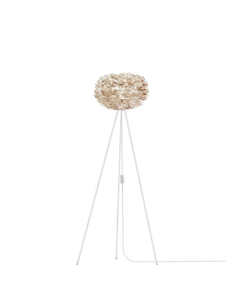 eos gulvlampe lys brun vita lampekongen. Black Bedroom Furniture Sets. Home Design Ideas