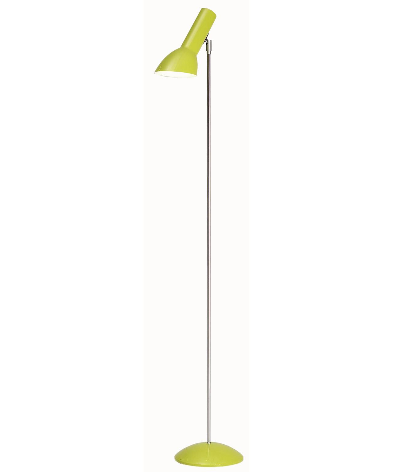 Image of   Oblique Gulvlampe Gul Højglans - CPH Lighting