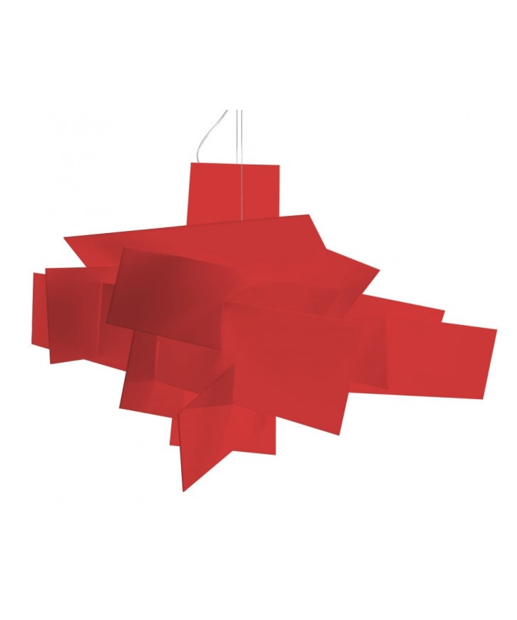 Image of   Big Bang Pendel Rød - Foscarini