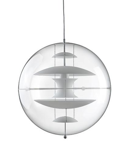 Image of   VP Globe 50 Glas Pendel - Verner Panton