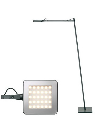 Image of   Kelvin LED F Gulvlampe Antracit - Flos
