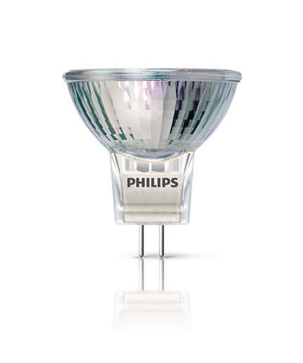 Philips Pære 20w halogen spot gu4 - philips på lampemesteren.dk