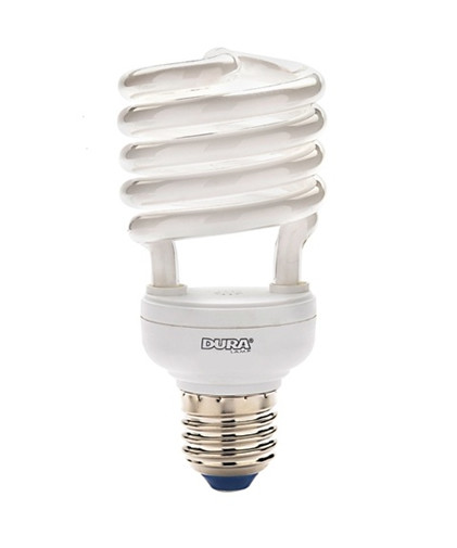 N/A – Pære 23w duralux twist e27 - dura lamp fra lampemesteren.dk
