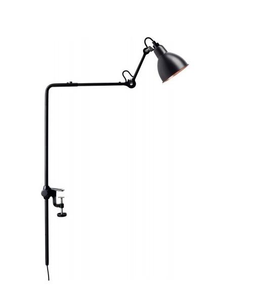 Image of   226 Bordlampe/Reol Lampe Sort/Sort/Kobber - Lampe Gras