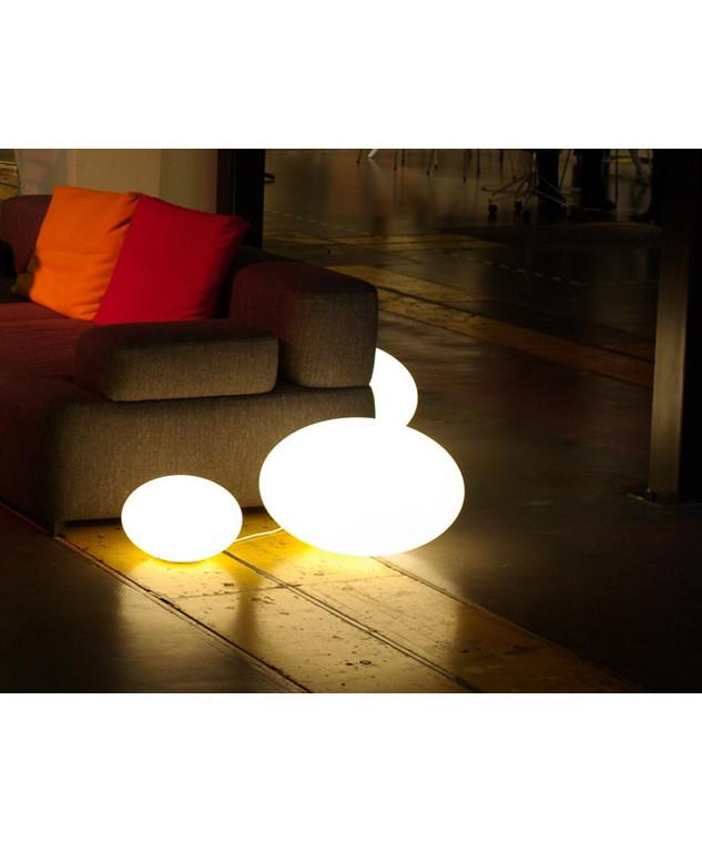 Image of   Eggy Pop In Bordlampe/Gulvlampe Stor Ø70 - CPH Lighting