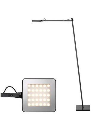 Image of   Kelvin LED F Gulvlampe Sort - Flos