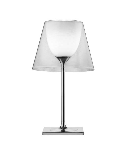Image of   KTribe T1 Bordlampe Glas Transparent - Flos