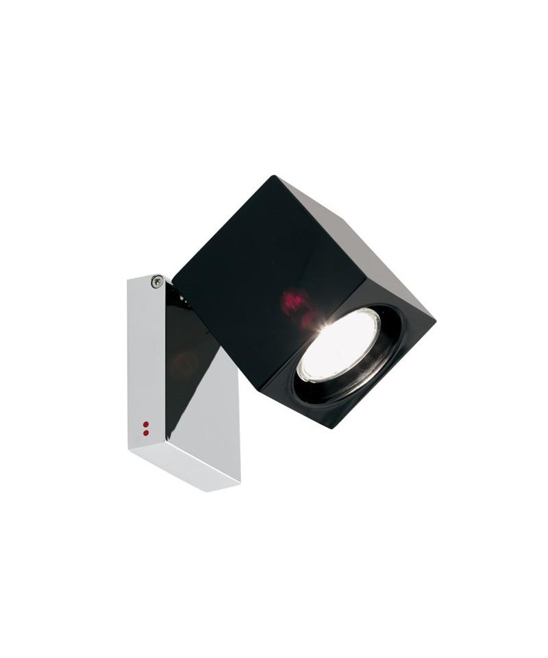 Fabbian – Ice cube classic væglampe/loftlampe sort - fabbian fra lampemesteren.dk