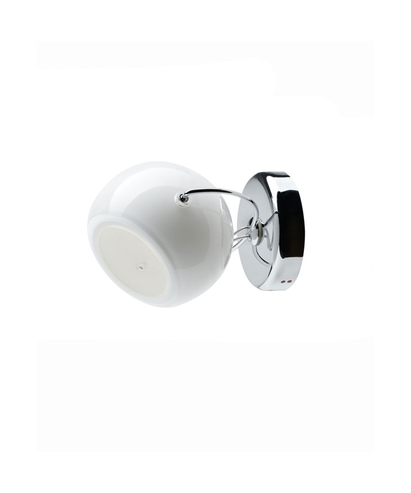Beluga væglampe/loftlampe hvid - fabbian fra Fabbian på lampemesteren.dk