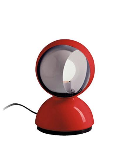 Eclisse bordlampe rød - artemide fra Artemide fra lampemesteren.dk
