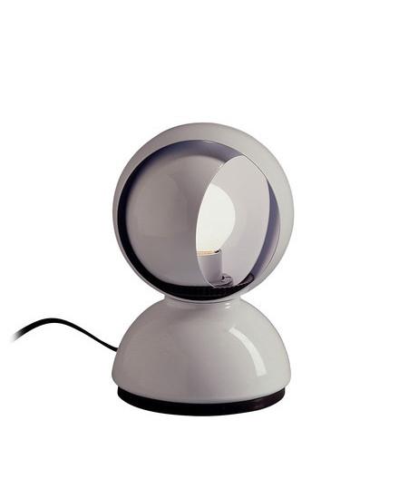 Artemide – Eclisse bordlampe hvid - artemide fra lampemesteren.dk