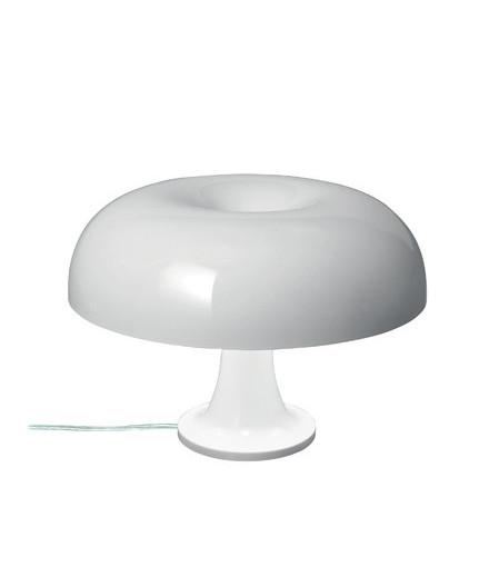 Artemide Nessino bordlampe hvid - artemide fra lampemesteren.dk