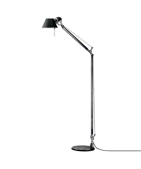 Artemide – Tolomeo lettura gulvlampe sort - artemide på lampemesteren.dk