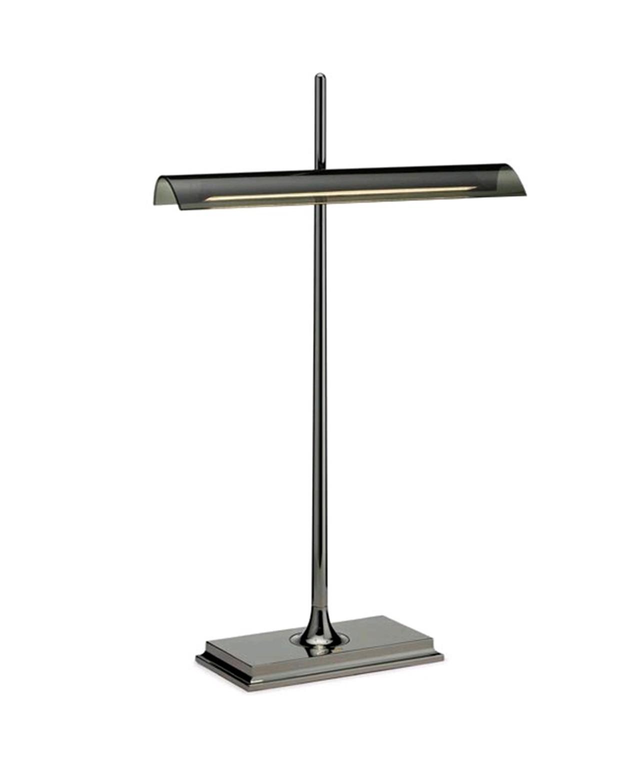 Image of   Goldman Bordlampe Sortforkromet - Flos
