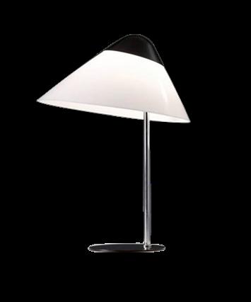 Pandul – Opala midi bordlampe - pandul fra lampemesteren.dk