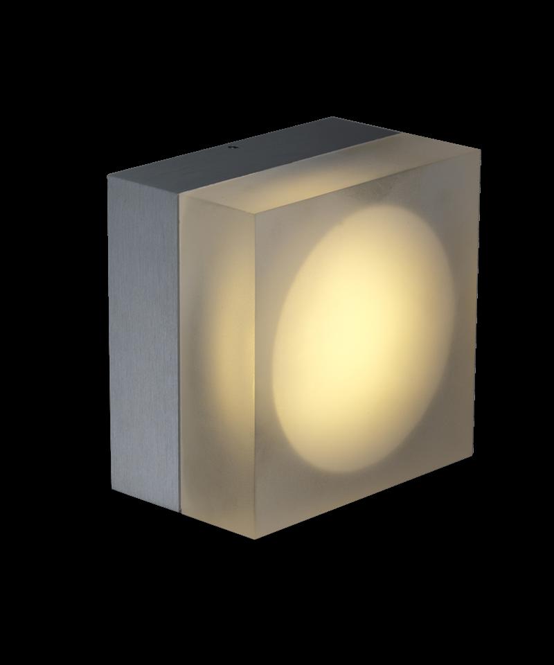 Light-point – Spunk square væg- / udendørslampe - light-point fra lampemesteren.dk