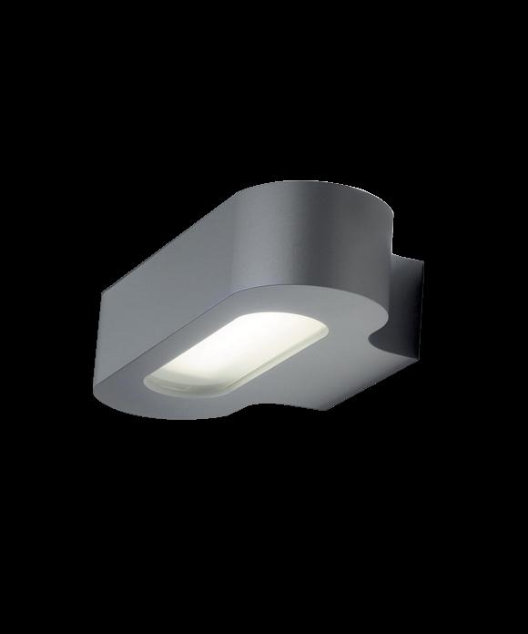 Talo 21 væglampe sølvgrå - artemide fra Artemide på lampemesteren.dk