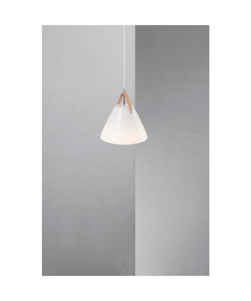 Strap 27 Pendel Lampe Opal Glas Nordlux Lampekongen