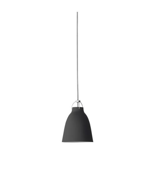 Image of   Caravaggio P1 Pendel Matt Black 3m - Lightyears