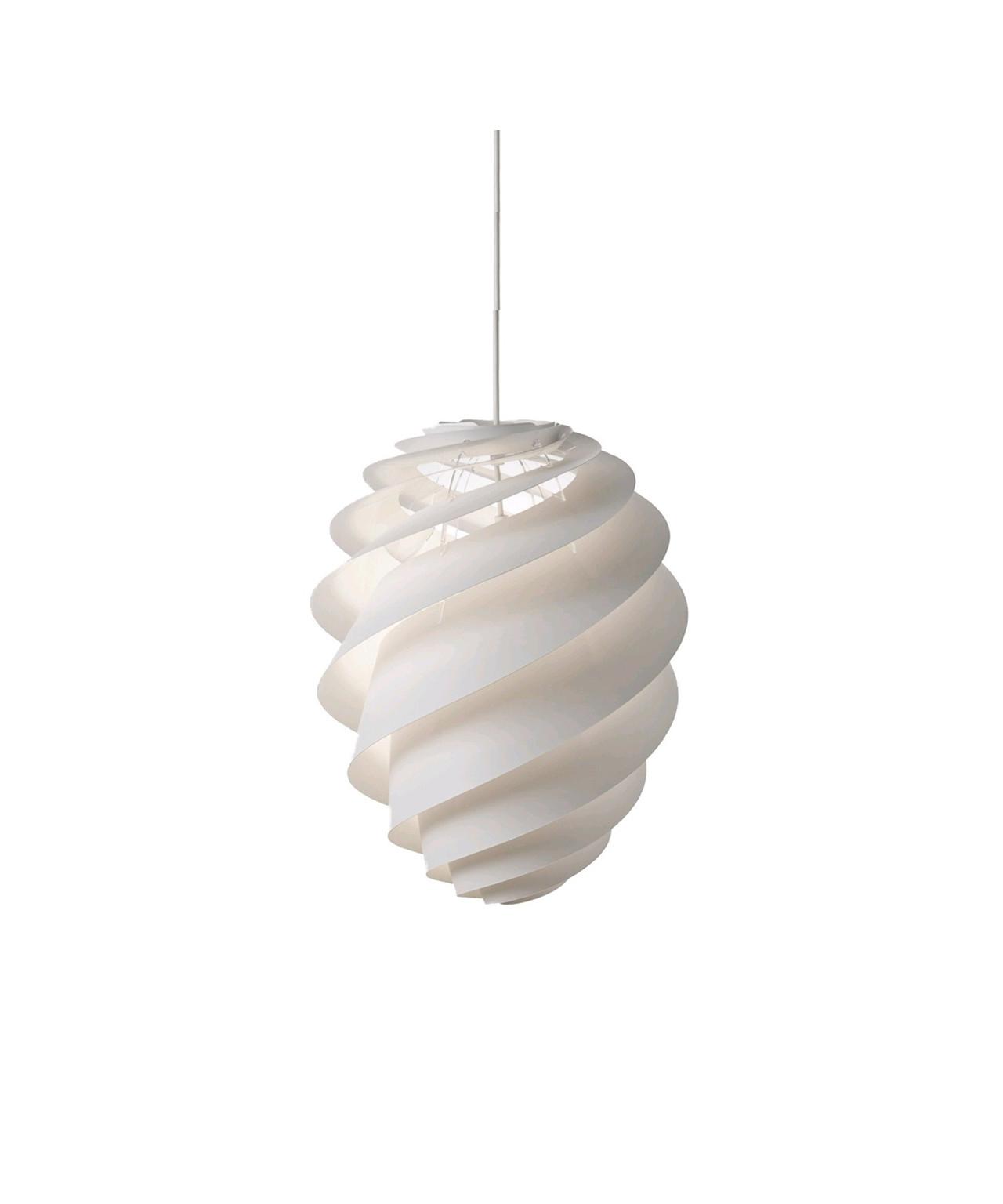 Le klint – Swirl 2 pendel small hvid - le klint fra lampemesteren.dk